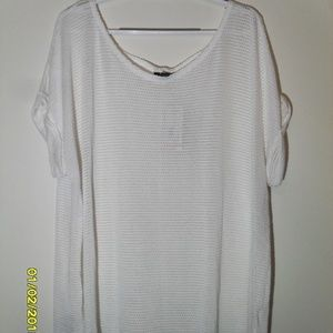 NEW WOMEN'S SIZE 2X POPOVER BLOUSE